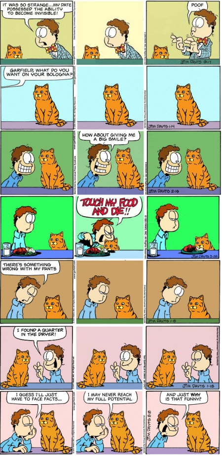 Ultimate Outsider Making Garfield Funny